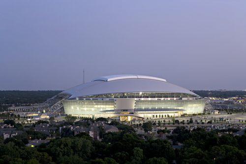 25. AT&T Stadium, Arlington, Texas