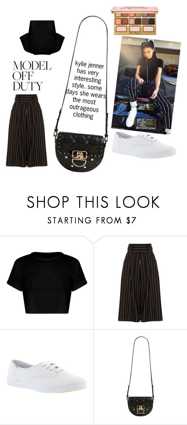 """kylie Jenner outfits"" by realblessi ❤ liked on Polyvore featuring J.W. Anderson, Keds, Balmain and Kandee"