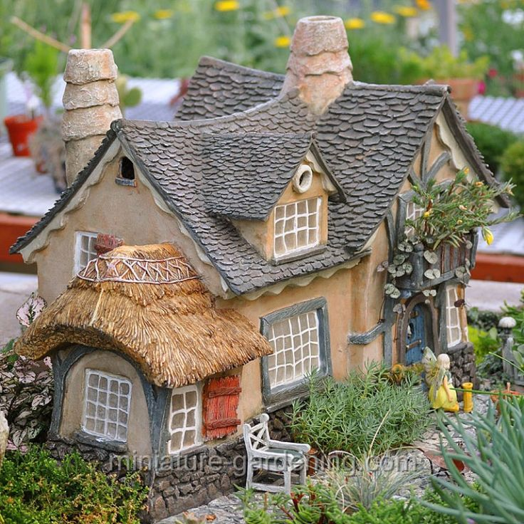 Garden Cottage: 205 Best Images About Fairy Garden Houses-Town On