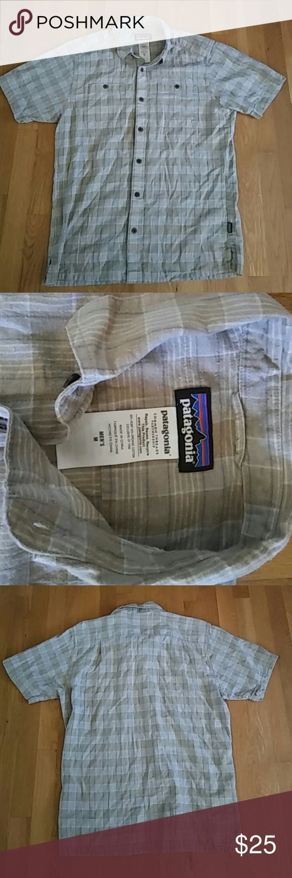 Selling this Patagonia cotton shirt sz m nice pattern on Poshmark! My username is: dannydanny1. #shopmycloset #poshmark #fashion #shopping #style #forsale #Patagonia #Other