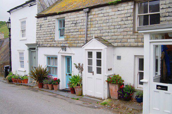Louisas Cottage | Doc Martin | Port Isaac | Cornwall England. Blue Door