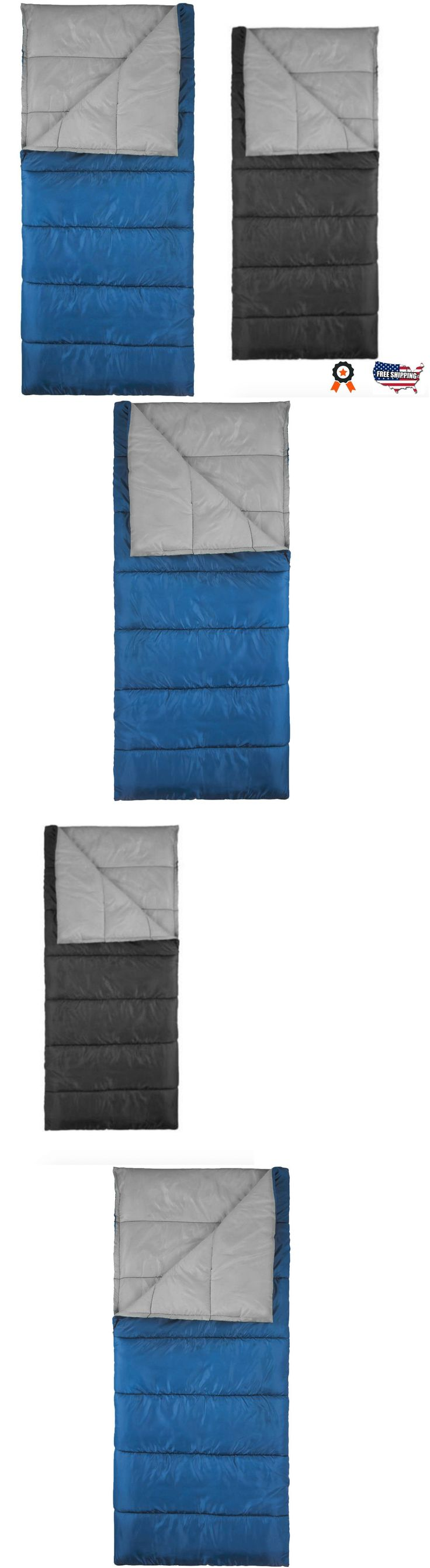 Sleeping Bags 87100: Sleeping Bag Envelope Camping Hiking Insulated Lightweight Warm Outdoor Adult -> BUY IT NOW ONLY: $64.45 on eBay!