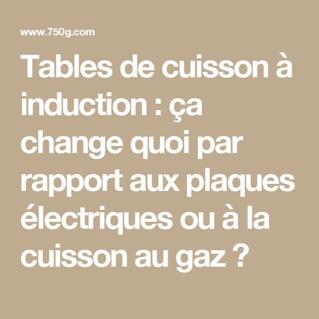 Tables de cuisson à induction : ça change quoi par rapport aux plaques électriques ou à la cuisson au gaz ?