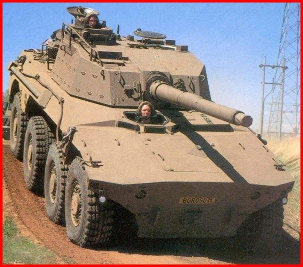 SADF.info ROOIKAT ARMOURED CAR -