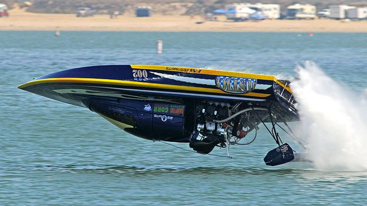 Drag Boat Racing - saw the Blue Angels do this maneuver