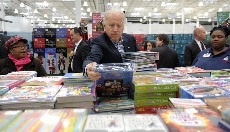 Joe Biden Goes To Costco
