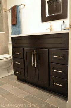 Masculine Bathroom Renovation - contemporary - bathroom - dc metro - RJK Construction Inc