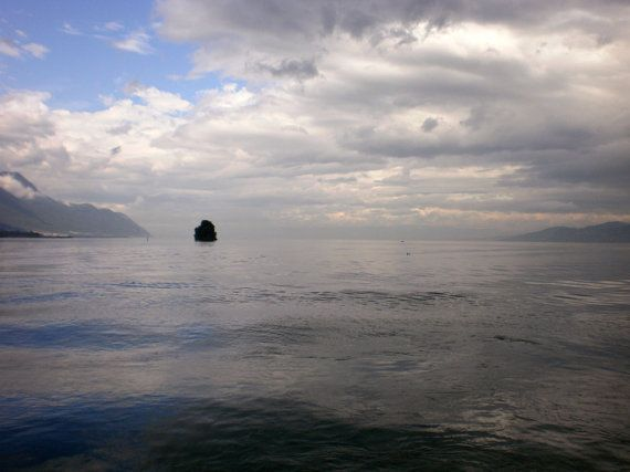 Photograph - Lake Geneva by Maria Ernest Fragopoulou