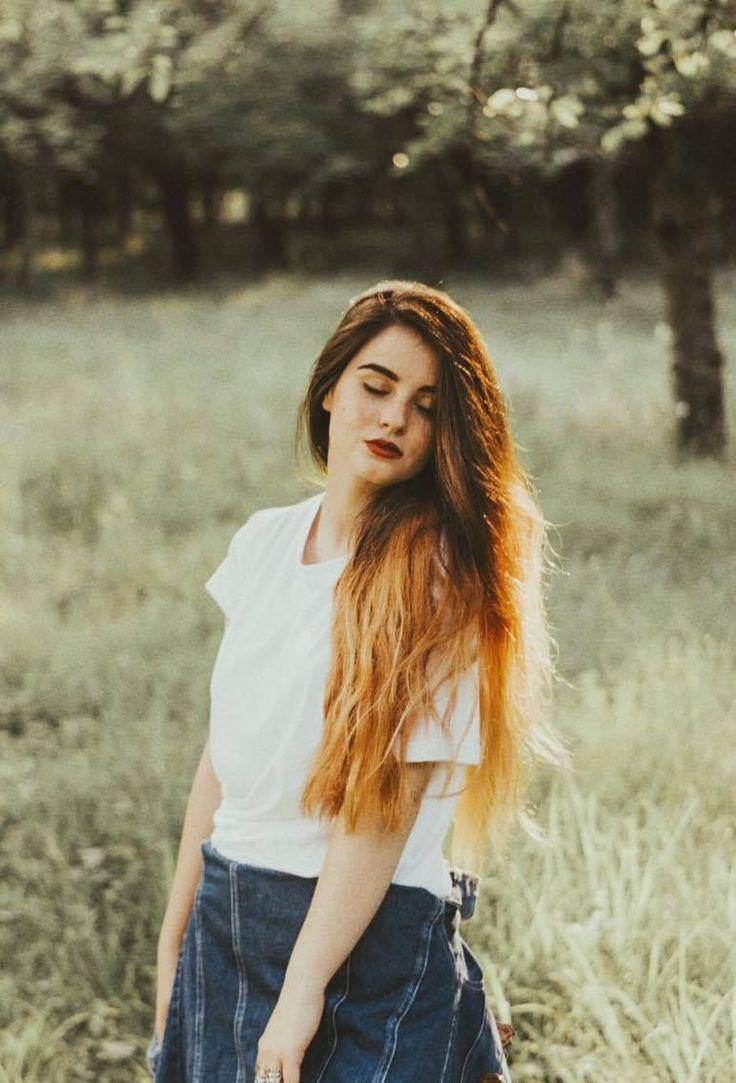 fairy model romanian girl long hair nature summer love #clucerescumadalina
