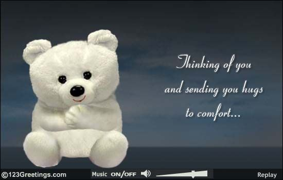 Thinking of you & sending you comforting ((HUGS)) God
