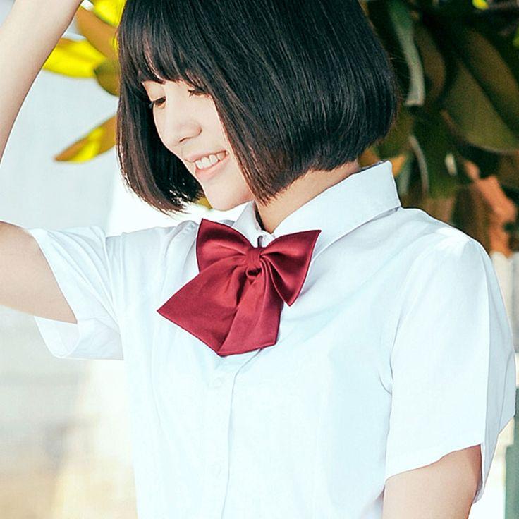 JK Japanese schoolgirl sailor school uniform Pure color Bow Tie( 9 color Whole sale)