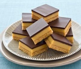 Caramel Slice. The Best Ever Caramel Slice: Another NESTLÉ Sweetened Condensed Milk recipe from our 100 years of Sweet Baking Memories Book. This truly is the Best-Ever Caramel Slice - the thick layer of delicious caramel is sandwiched between a coconut biscuit base and lush, mouthwatering dark ch.