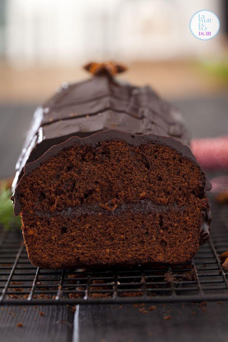 Bardzo prosty piernik świąteczny z czekoladą - Lawendowy DomLawendowy Dom