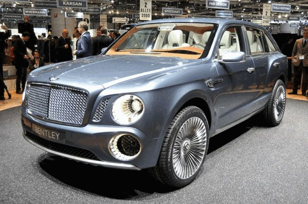 Bentley's first SUV
