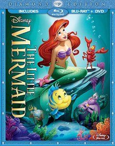 Save $7 on Disney's The Little Mermaid Blu-Ray Combo Pack