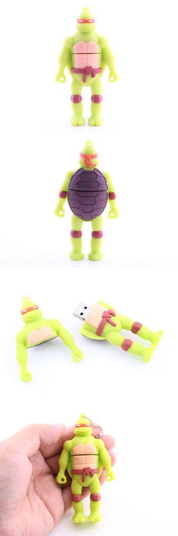 Ninja Turtle USB Flash Drive http://www.stgift.net/