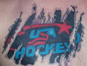 USA hockey Tattoo