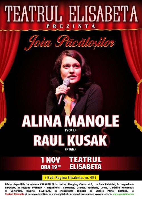 Alina Manole - Joia Pacatosilor - 1 noiembrie