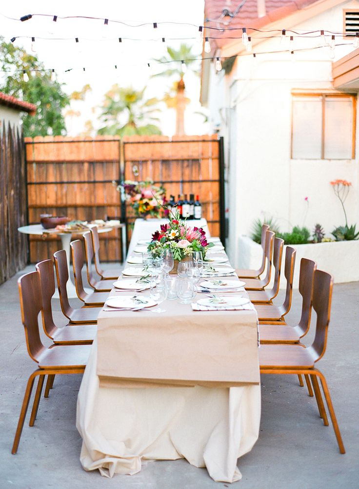 17 Best images about Party Ideas: Outdoor Dinner Parties ...