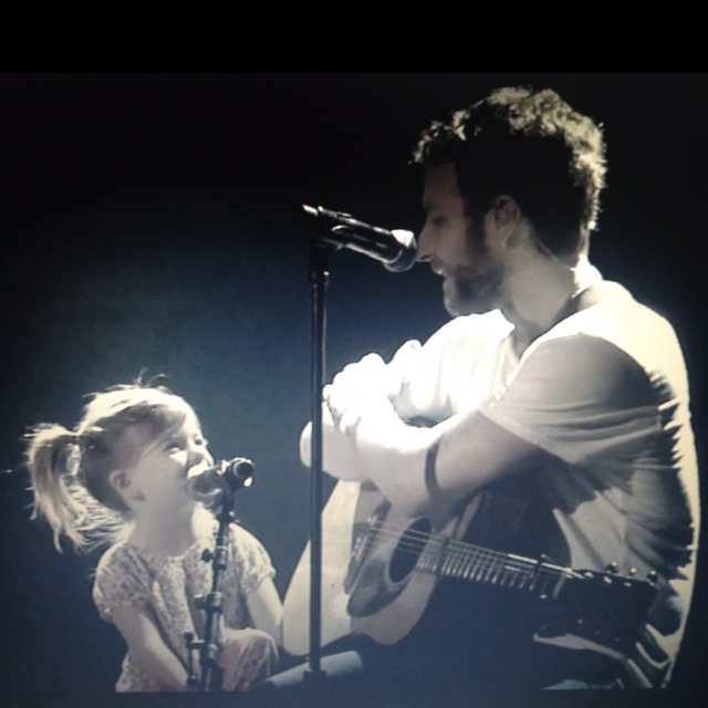"""Thinking of You"" by Dierks Bentley with daughter Evie in Ryman , absolutely adorable."