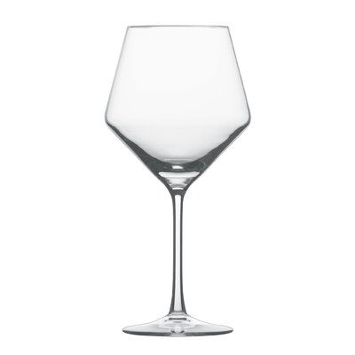 Cristal Crystal Burgundy Red Wine Glass