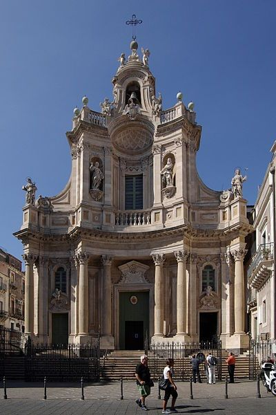 Sicilian baroque in catania italy catania sicily for Baroque italien