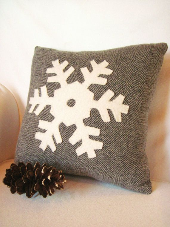 Christmas Decorating Ideas: 10 Pretty Holiday Pillows                                                                                                                                                                                 More                                                                                                                                                                                 More