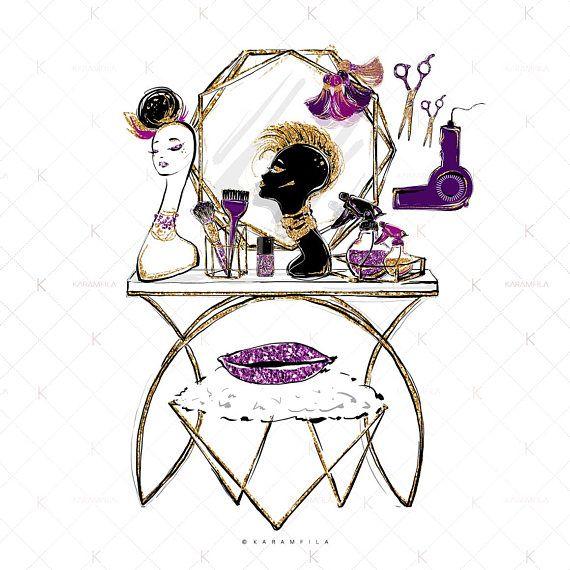 Pin By Laura On Mistectvo In 2020 Glitter Manicure Clip Art Beauty Salon Decor