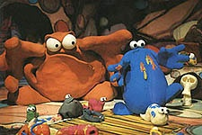 Trapdoor, created by Willie Rushton. (Much too brilliant to be just for kids ...)