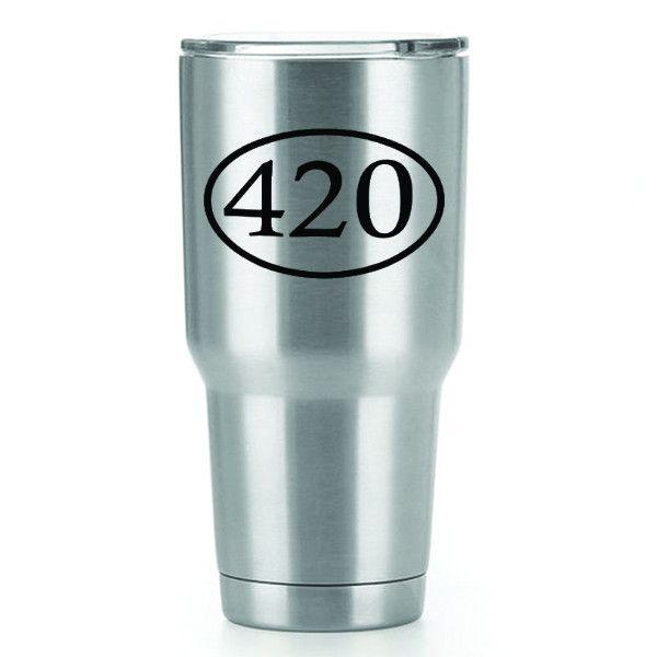 420  Single Yeti Decal   3inch