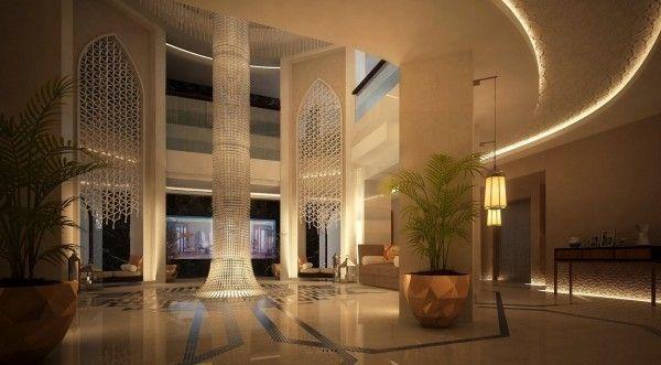 Salle d'entrée de luxe