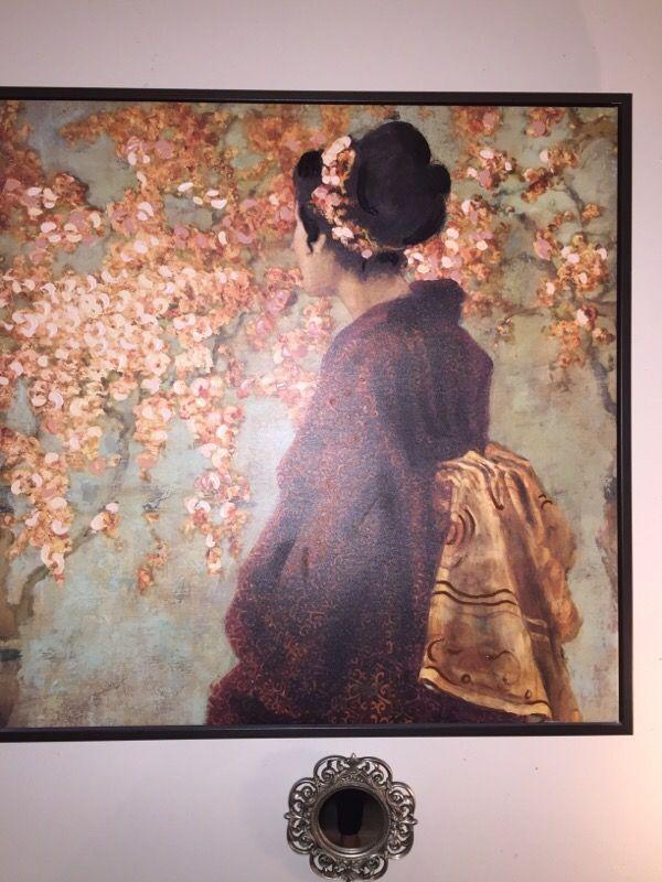 Aisan oil painting