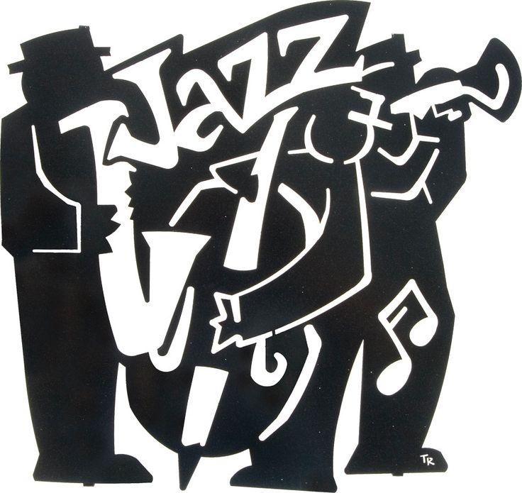 Jazz Band Laser Cut Metal Wall Art