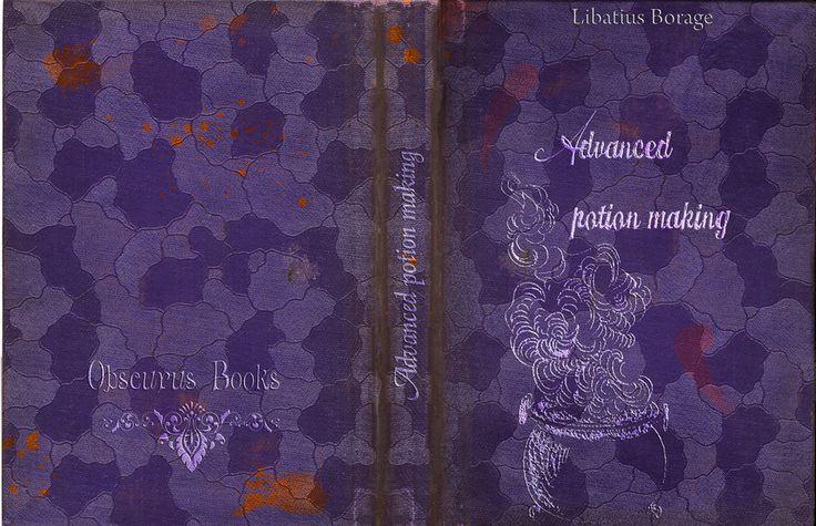 Potter Frenchy Party - Une fête chez Harry Potter: Visuels et illustrations Harry Potter sur le web - 9 - couvertures de livres et manuels de sorciers à imprimer