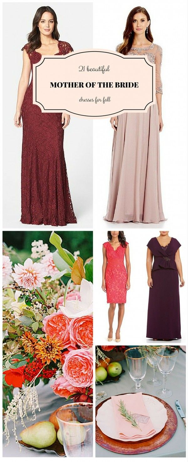 Fall Wedding Mother Of Bride Dress Ideas Mother Of The