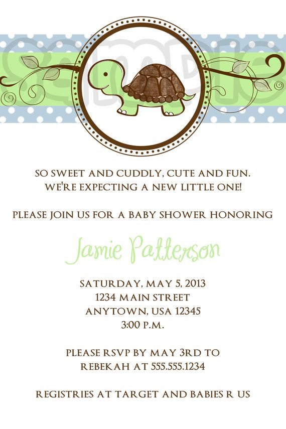 the 18 best images about baby on pinterest   fish tanks, glass, Baby shower invitations