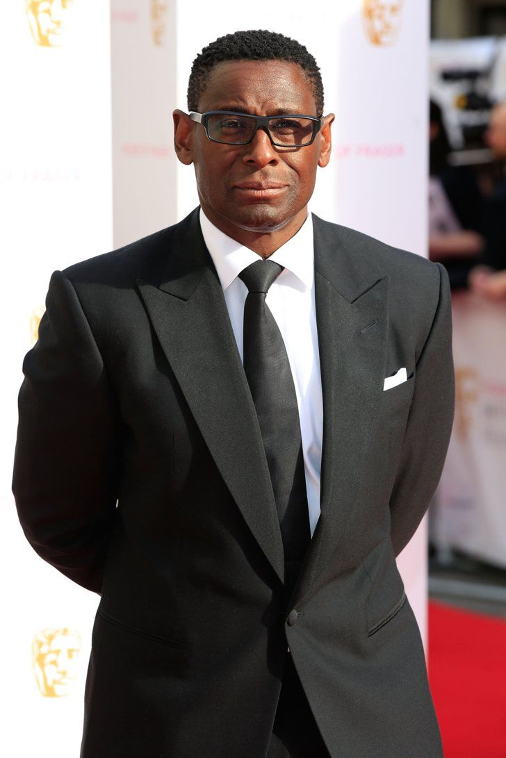 Pin for Later: See All the Stars Arriving at the 2015 BAFTA Television Awards David Harewood