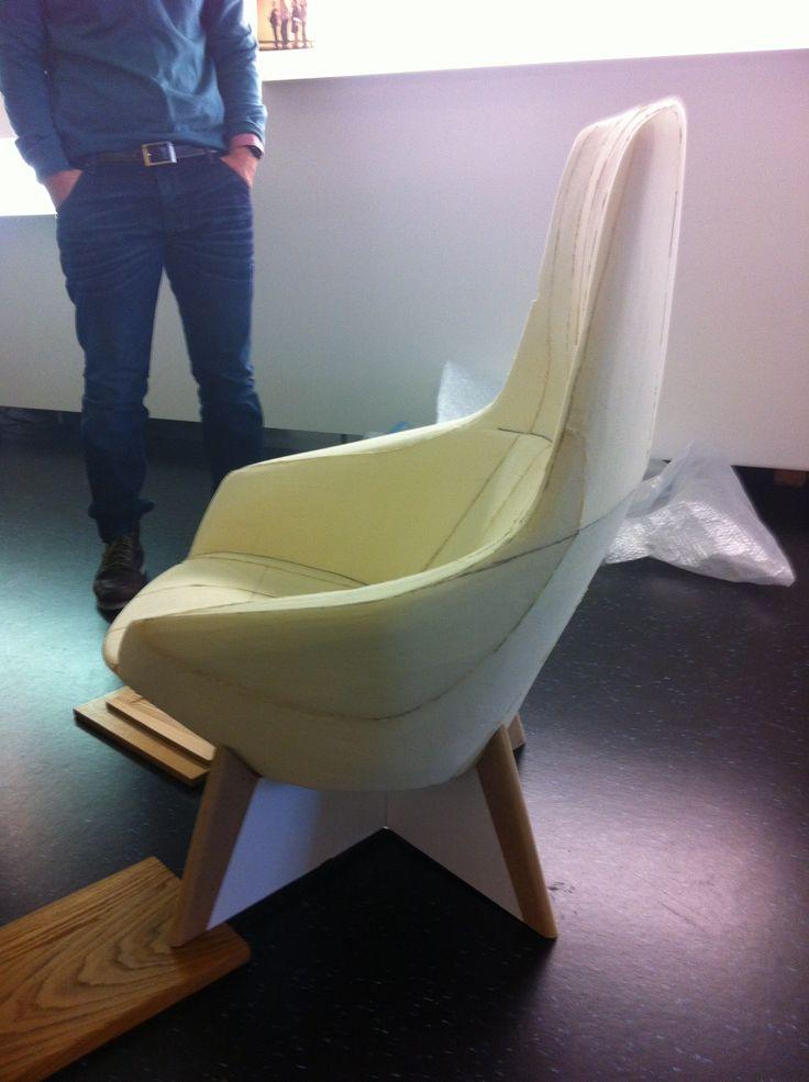 Second foam model in scale 1 to 1