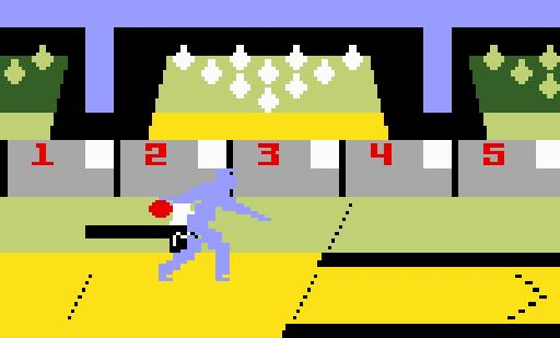 Bowling for Intellivision