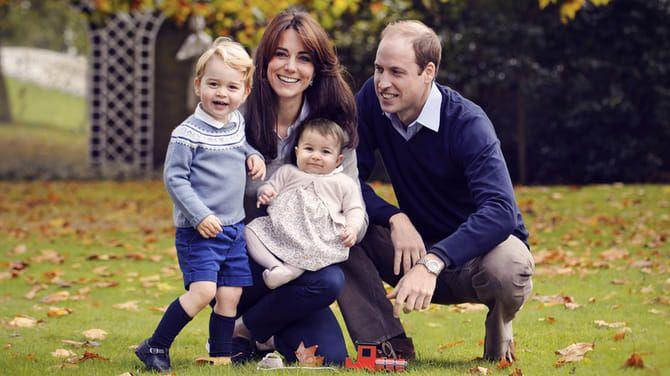 Princ William, vojvodkyňa Kate a ich dve deti, George a Charlotte