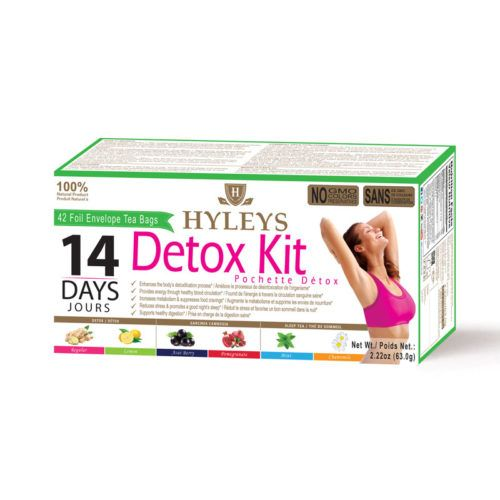 The Hyleys Detox Kit comes in a variety of 100% natural flavors to enhance your detoxification process and equip your body adequately to fight toxins and stress