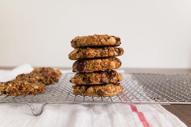 Tahini oatmeal cookies - tkd #cookies #oats #tahini #breakfast