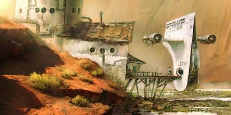 Personal science fiction concept art
