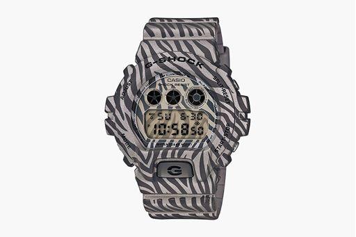 """炫丽斑马图纹,G-Shock DW-6900 全新 """"Zebra Camouflage"""" 系列面世"""