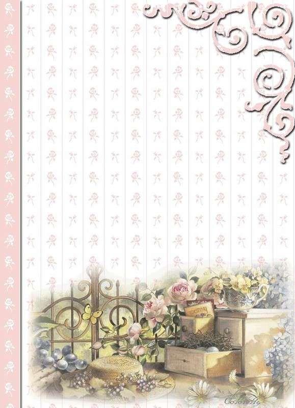 carta da lettera decorata - Cerca con Google