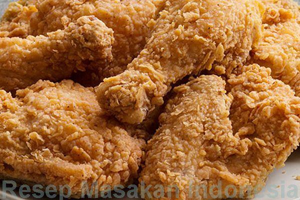 Cara membuat ayam goreng fried chicken renyah. Anda penggemar ayam goreng fried chicken. Bagaimana cara membuat ayam goreng ala fried chicken supaya enak dan renyah - Resep Masakan Indonesia - Indonesian Food Recipes - Indonesian cuisine