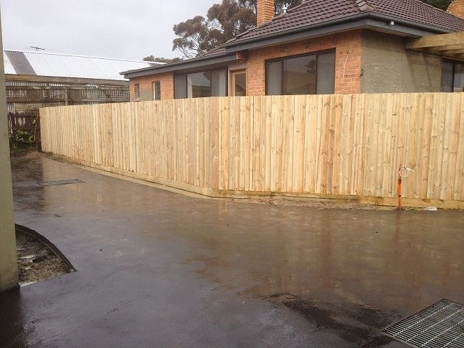 Paling boundry fence 6'4 195cm 1950mm high