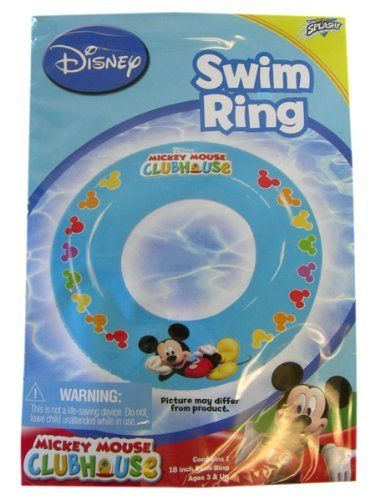 Disney water toys- Mickey Mouse Clubhouse Swim Ring by BT. $6.50