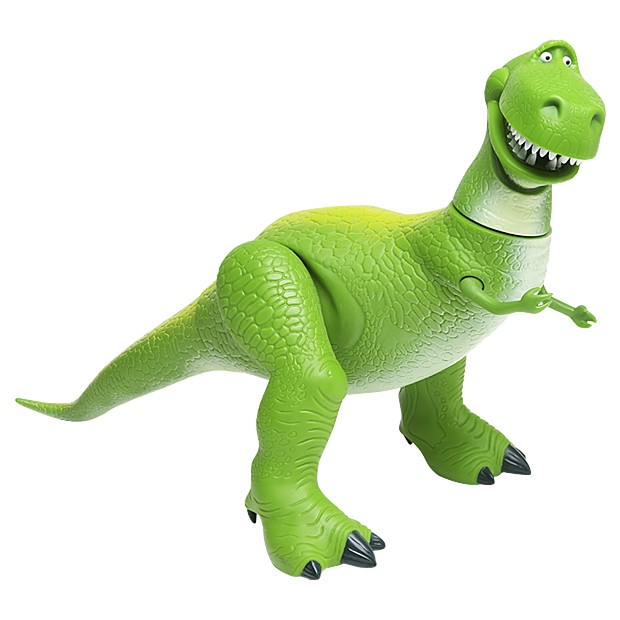 Toy Story Dinosaur : Toy story collection rex the roaring dinosaur disney