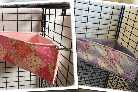Corner Bed Patchwork Hammocks for Rats Ferrets Chinchilla Gerbil Degu
